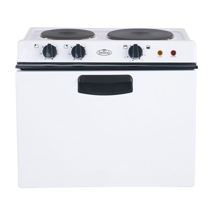 Picture of BABY BELLING 121R Conventional oven, with fixed grill and sealed plate hob.