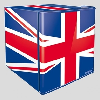 Picture of Union Jack Flag Mini Fridge EL193