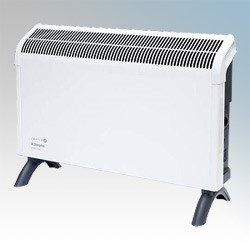 Picture of Dimplex DXC30 Contrast White/Graphite Grey Portable Convector Heater With Thermostat