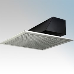 Picture of Dimplex AC3CN AC Range White Ceiling Recessed Warm Air Curtain With Wall Mounted Controller & Ceiling Grille 3.0kW