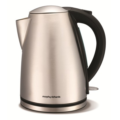 Picture of Morphy Richards Brushed Stainless Steel Jug Kettle Guarantee Model Number: 43615