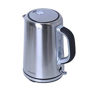 Picture of Brabantia BBEK1001 Soft Grip Stainless Steel Kettle, 1.7 L, 3 kW