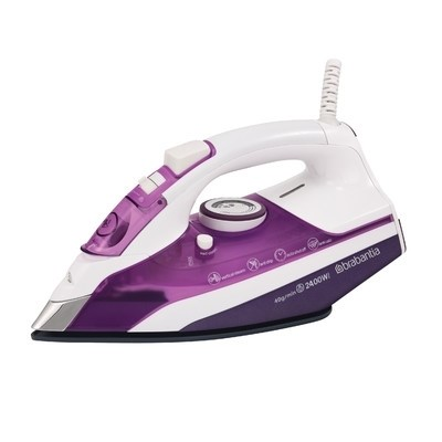 Picture of Brabantia 2400W Steam Iron White/Purple BQ1005
