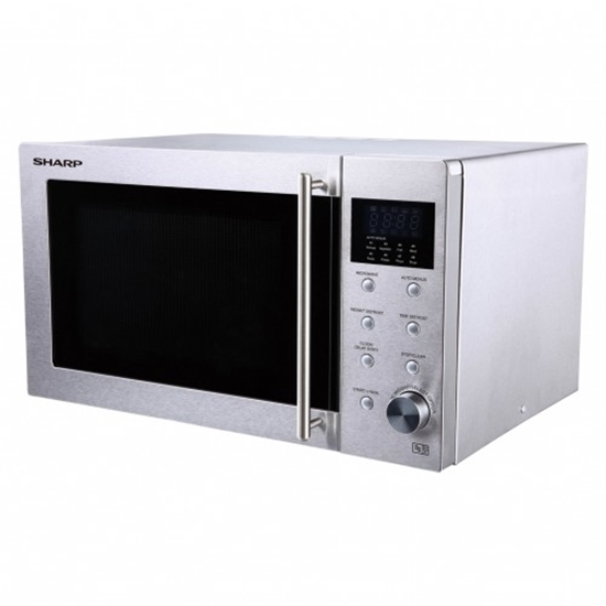 Picture of Sharp 23L microwave in stainless steel Stainless Steel / Inox R28STM