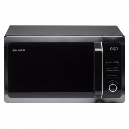 Picture of Sharp 20L Solo Microwave Black R274KM