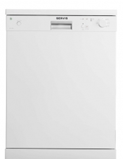 Picture of SERVIS WHITE 60CM DISHWSHER