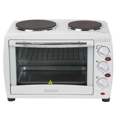 Picture of IGENIX 26L MINI OVEN WITH DOUBLE HOB