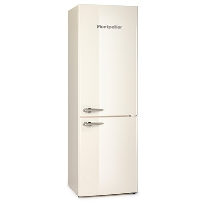 Picture of Montpellier MAB365C/K/R Retro Fridge Freezer