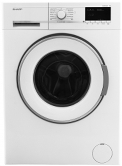 Picture of Sharp ESGL74W  SHARP WHITE 1400 SPIN 7KG WASHING MACHINE
