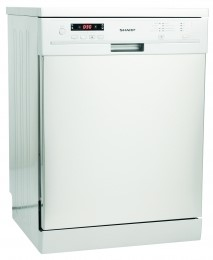 Picture of Sharp QWF471W  SHARP WHITE FULL SIZE DISHWASHER