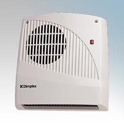 Picture of Dimplex FX20VL FX Series White Low Level Downflow Fan Heater With Thermostat & Neon