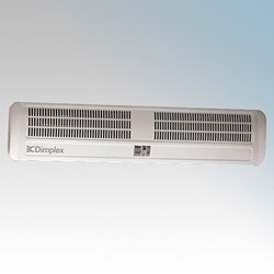 Picture of Dimplex AC45N AC Range White Warm Air Curtain With Adjustable Air Flow Direction & Integral Controls For Single Doorways 4.5kW