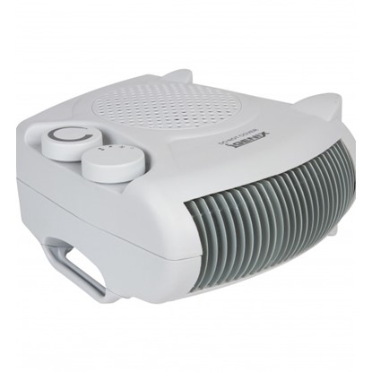 Picture of Igenix IG9010 2kW Flat/Upright Fan Heater – White