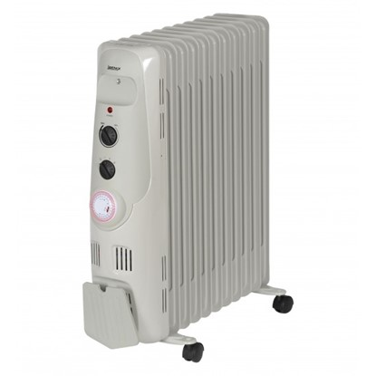 Picture of Igenix IG2655 2.5kW Oil Filled Radiator with 24H Timer – Grey