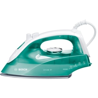 Picture of Bosch white / green Steam iron Sensixx B1 TDA2623GB
