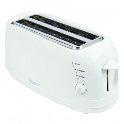 Picture of Igenix IG3020 4 Slice Toaster – White