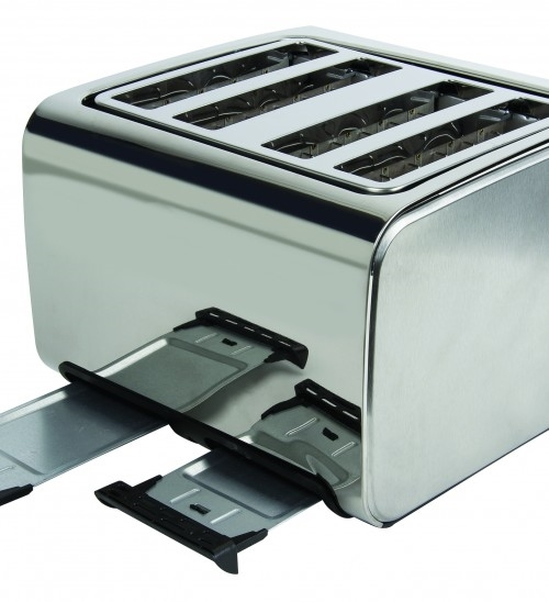 1796cf28285 ... Picture of Igenix IG3204 4 Slice Toaster – Brushed and Polished  Stainless Steel