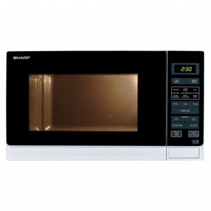 Picture of 25L microwave with touch control (white) White R374WM