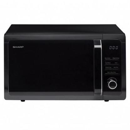 Picture of Sharp 25L Solo Microwave Black R374KM