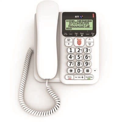 Picture of BT DECOR 2600 CORDED TELEPHONE