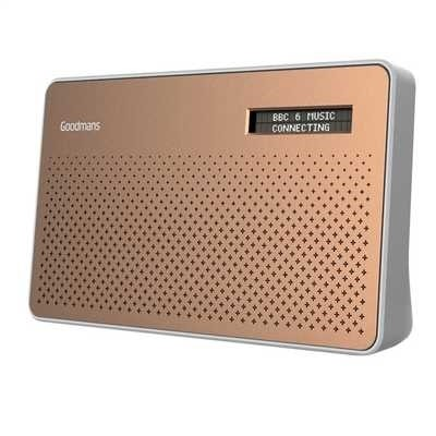 Picture of GS1892 GOODMANS DAB CANVAS COPPER RADIO