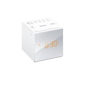 Picture of SO2109 SONY FM/AM CUBE CLOCK RADIO WHITE