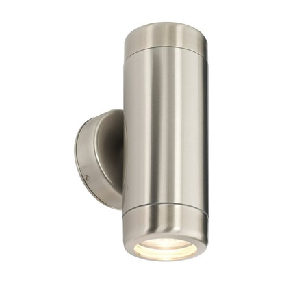 Picture of SAXBY ATLANTIS TWIN WALL IP65 LIGHT STAINLESS STEEL