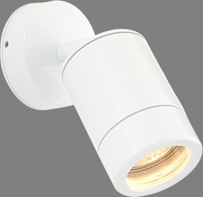 Picture of SAXBY WHITE ODYSSEY GU10 WALL SPOTLIGHT