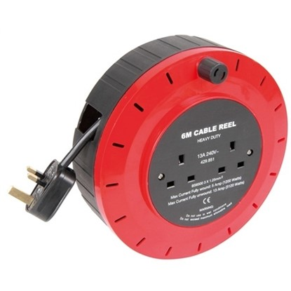 Picture of Mains Extension Cable Reel 6M