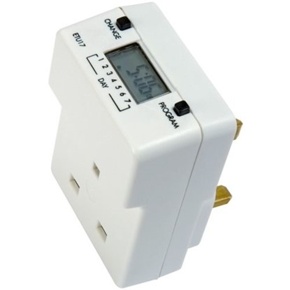Picture of TIMEGUARD 7DAY SLIMLINE DIGITAL TIMECLOCK