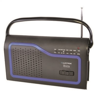 Picture of IBIZA MAINS/BATTERY AM/FM RADIO